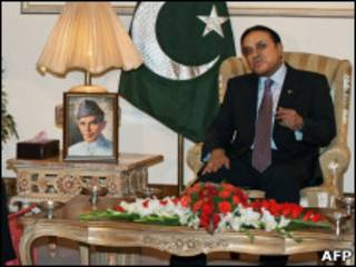 Президент Зардари