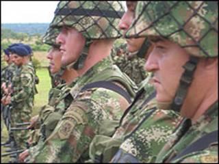 Soldados da Colômbia
