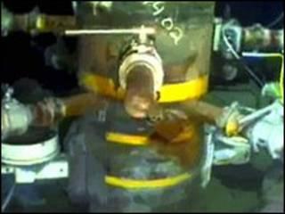 کلاهک مهارکننده چاه آسیب دیده در خلیج مکزیک