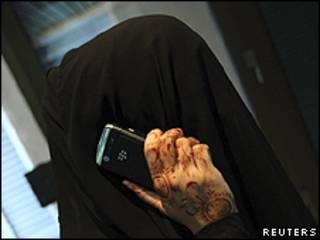 هواتف بلاك بيري في السعودية