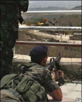 На ливано-израильской границе