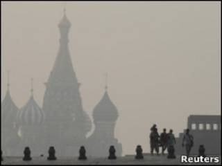 Москвы в дыму