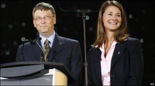 मेलिंडा और बिल गेट्स