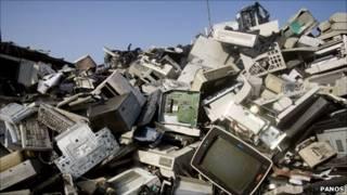 زباله های الکترونیکی