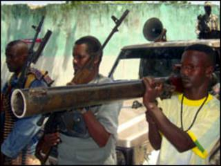 مسلحون من حركة الشباب