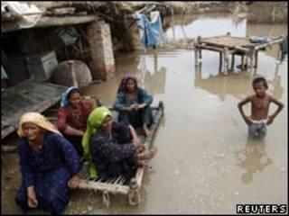 Cheia no Paquistão