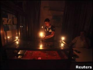 انقطاع الكهرباء في غزة