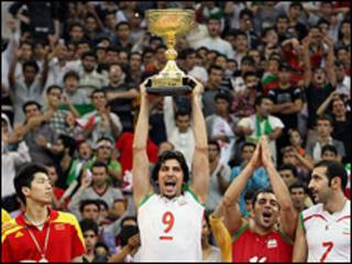 قهرمانی ایران