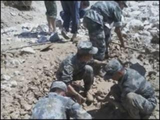 Tentara dikerahkan di Gansu