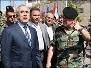 Presidente de Líbano Michel Suleiman