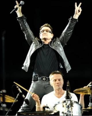 Боно и U2