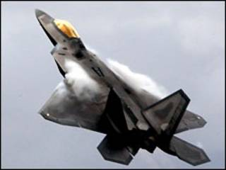 """Америкаснкий истребитель F-22 """"Раптор"""""""