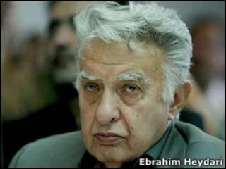 عزت الله سحابی - عکس از ابراهیم حیدری