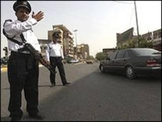 इराक़ी पुलिस