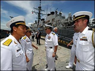အမေရိကန်နဲ့ ဗီယက်နမ် စစ်ရေးလေ့ကျင့်ခန်းစပြီ
