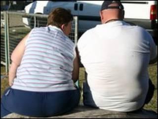 Casal obeso