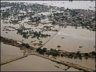 سندھ میں سیلاب کی فوٹو