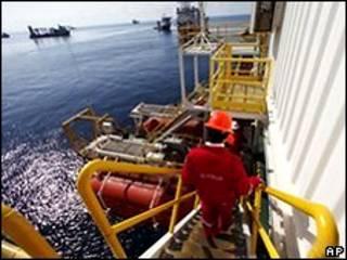منصة نفط في خليج المكسيك