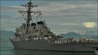 Khu trục hạm John S. McCain tại Đà Nẵng