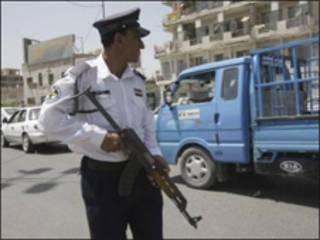 پلیس راهنمایی و رانندگی بغداد- عکس از خبرگزاری فرانسه