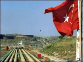 خط لوله نفتی ترکیه، عکس آرشیو