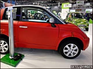 Think, carro eléctrico de fabricación noruega