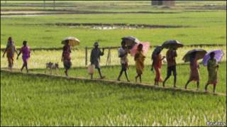 पश्चिम बंगाल का एक गांव