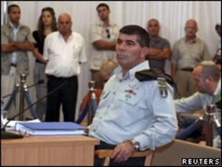 Gaby Ashkenazi, jefe del ejército israelí