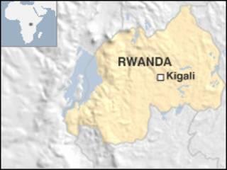 Ramani ya Rwanda