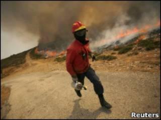 Португальский пожарный