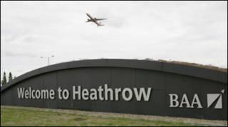 Ảnh chụp ở Heathrow