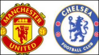 Man U da Chelsea