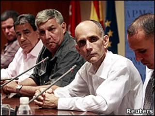 Disidentes liberados en España