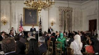 Обама на ужине в честь начала Рамадана