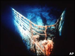 "останки ""Титаника"""