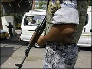 شرطي في بغداد
