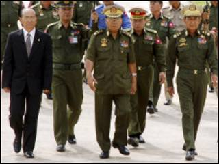 Burma generals