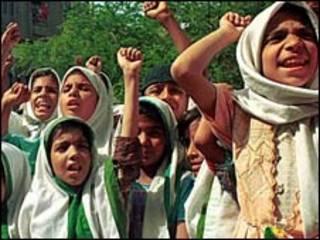 Zanga zanga a Yankin Kashmir na kasar Indiya