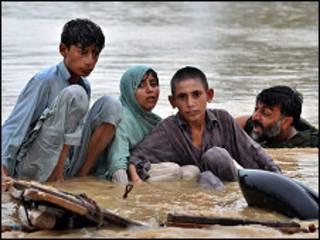 Waathirika wa mafuriko ya Pakistan