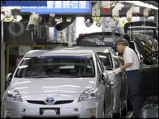 Ekspor otomotif menjadi salah satu andalan ekspor Jepang