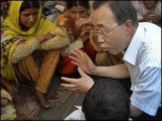 Ban Ki Moon a Pakistan