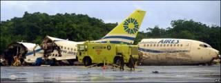 Boeing 737 de la línea Aires