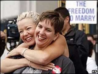 Activistas gay en San Francisco, California