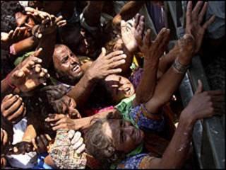 Mutanen da ambaliyar ruwa ta shafa a Pakistan