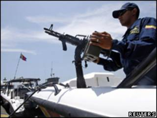 Колумбийская военная база