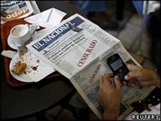 Portada del diario El Nacional, 18 agosto 2010