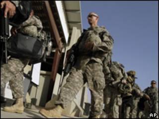 Lính Mỹ rời Iraq
