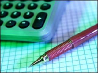 Pena dan kalkulator