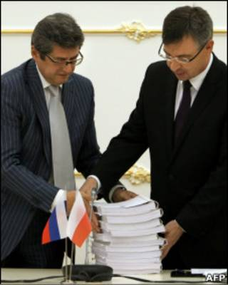 Александр Звягинцев (слева) и Кшиштоф Парульский