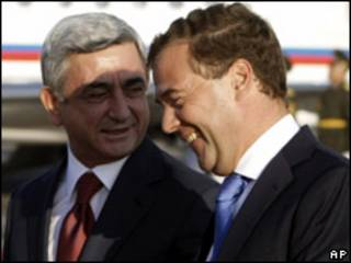 ميدفيديف وسركيسيان